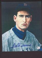 Ted Williams Signed 8x10 Autograph Authenticated with COA
