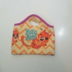 Baby Alive Replacement Diaper Bag Changing Pad tiger