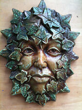 'Poison Ivy' Green woman, lady Plaque by Summerisle, Greenman,wiccan,pagan
