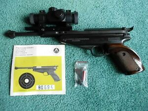 SCOPED! Feinwerkbau Model 65 Competition .177 Caliber Air Pistol Olympic Grade!
