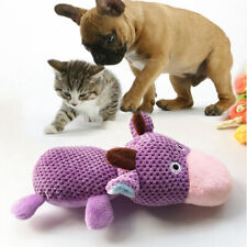 Pet Funny Soft Puppy Chew Play Squeaker Squeaky Plush Sound Toy For Dogs GR