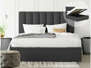 Plush Velvet Oslo Bed, Ottoman Bed, Storage Bed in All Sizes & Colours