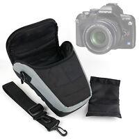Black/Silver Padded SLR Camera Case For Sony Cybershot DSC-RX10 / RX10 II