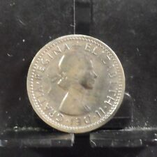 CIRCULATED 1955 6 PENCE UK COIN (51618)