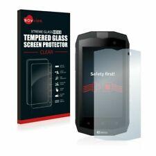 Savvies Xtreme Glass HD33 Protecteur d'Écran en Verre Trempé pour CROSSCALL TREKKER-M1 - Transparent