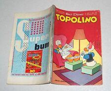 TOPOLINO libretto n. 493 Walt Disney 1965 Mondadori
