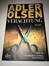Verachtung von Jussi Adler-Olsen (Taschenbuch)