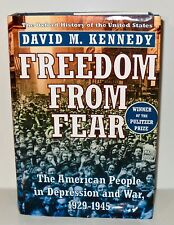 American (US) FREEDOM FROM FEAR Kennedy First Edition HARDCOVER Signed Americana