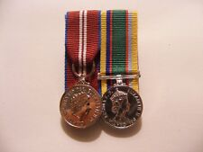 QDJM Cadet Force Medal Miniature Medals Mounted (jubilee diamond)