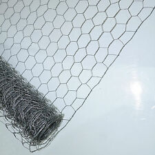 GALVANISED WELDED CHICKEN WIRE FENCE MESH PANEL PETS RABBIT HUTCH HEN COOP