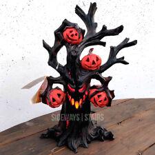 HAUNTED PUMPKIN TREE Halloween Decoration light color changing tim burton horror