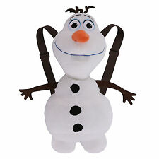 New listing Disney Frozen Olaf Plush Backpack New