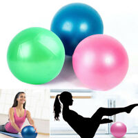 20cm Yoga Sports Ball Gym Pilates Balance Exercising Fitness Air Pump Anti-Burst