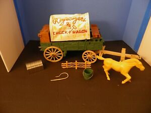 Vintage 1950s IDEAL Roy Rogers CHUCK WAGON