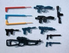12  REPRO Weapons LOT 1977 Lightsaber Chewbacca, Luke,Han, Leia Vintage Star War