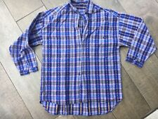 WRANGLER - Ladies LOOSE FIT Checked Cotton Shirt - Size S