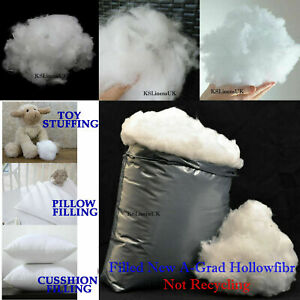 Hollowfibre Virgin Polyester Filling Soft Stuffing Toy Teddy Bear Cushion Pillow