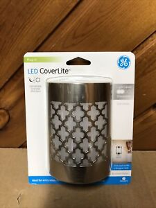GE CoverLite LED Night Light, Plug-in, Dusk-to-Dawn 29847 New