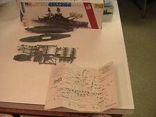 Brand New Lindberg Arizona Warship Model Vintage Rare Complete