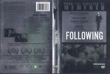 DVD:   FOLLOWING.........JEREMY THEOBALD-ALEX HAW-LUCY RUSSELL