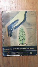 HANDBOOK FOR DEPENDABLE PLANT PROTECTION PRODUCTS ici & william cooper 1950