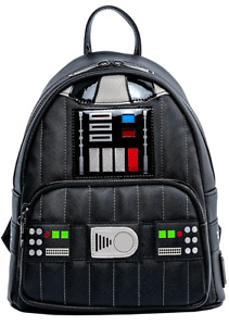 Star Wars Darth Vader Cosplay Light Up Mini Backpack by Loungefly - New, With Ta