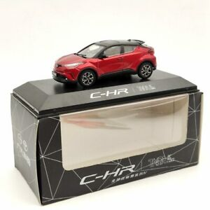 1:43 Toyota CHR SUV Diecast Models Limited Collection Red
