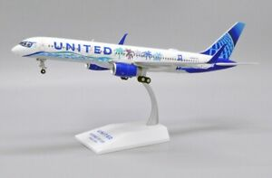JC LH2268 1/200 UNITED AIRLINES B757-200 HER ART HERE-CALIFORNIA LIVERY N14106