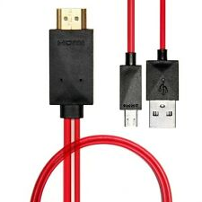 Mhl A Hdmi Cable Adaptador Para Samsung Galaxy S3 S4 Note2 - 2m/6ft 1080p Full Hd