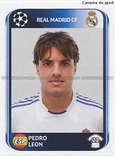 N°441 PEDRO LEON # ESPANA REAL MADRID UEFA CHAMPIONS LEAGUE 2011 STICKER PANINI