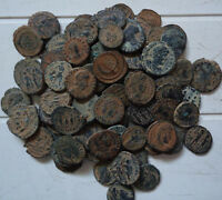 10 Lot of High quality Ungraded, Unsorted and Uncleaned desert Roman coins !!