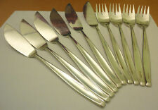 Fischbesteck BSF Madame 4 Fischgabeln + 4 Fischmesser 90er Silberauflage Besteck