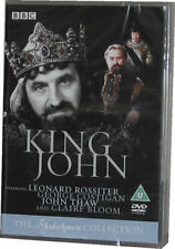 King John - BBC Shakespeare Collection DVD - New Sealed