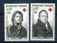 FRANCE 1964 timbres 1433/1434, Croix Rouge, neufs**