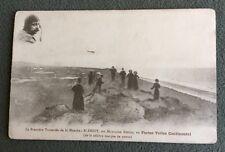CPS. BLÉRIOT. Traversée de la Manche sur Monoplan Blériot. Toiles Continental.