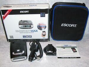 Mint - Escort PASSPORT MAX Radar/Laser/Safety/Camera Detector HD Performance GPS