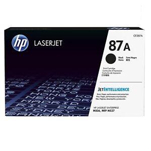 HP 87A GENUINE LASERJET TONER CARTRIDGE HIGH YIELD BLACK (CF287A)