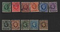 GB 1934 photogravure SG439-449 fine used set stamps good perfs