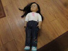 "Lot Of 3 American Girl (2) 18"" Dolls -&1 mini"
