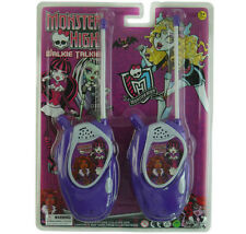 MONSTER HIGH ELECTRONIC WALKIE TALKIE PLAY SET KID CHILDREN BOY GIRL TOY