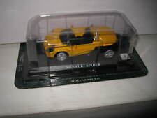 1/43 SCALE  UNBRANDED MODEL CAR  RENAULT SPIDER YELLOW  OLD SHOP STOCK