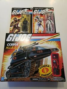 GI Joe Retro Cobra HISS Tank Storm Shadow Snake Eyes Walmart Exclusive!