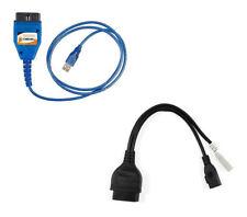 KKL USB OBD Diagnose-Gerät 2x2 Adapter Scanner Lesen Löschen VW AUDI SEAT SKODA
