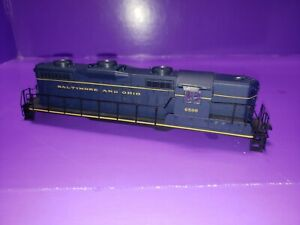 SHELL & RAILINGS ONLY HO SCALE Proto 2000  GP18 DIESEL BALTIMORE AND OHIO # 6599