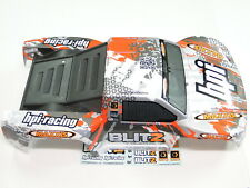 NEW HPI BLITZ Body Factory Painted Orange/White HZ5E