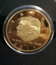 Trump Eagle Coin America GREAT Again 45th President USA Liberty Virtual Currency