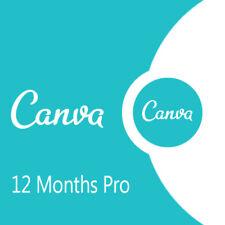 Canva Pro: 12-Months Subscription
