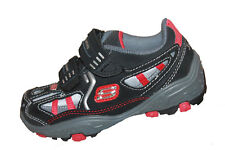 Infant Boys Skechers Ammex Crushers Casual Shoes Size 9 - 91677N/BKGY