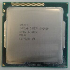 INTEL CORE i5-2400 3.1GHz SR00Q 4 CORE PROCESSORE CPU SOCKET 1155/H2/LGA1155
