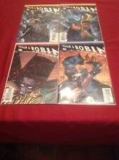 ALL STAR Batman & Robin #1 BOTH COVERS PLUS NUMBERS 2 AND 3! NM!